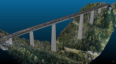 3D Modell der Europabrücke